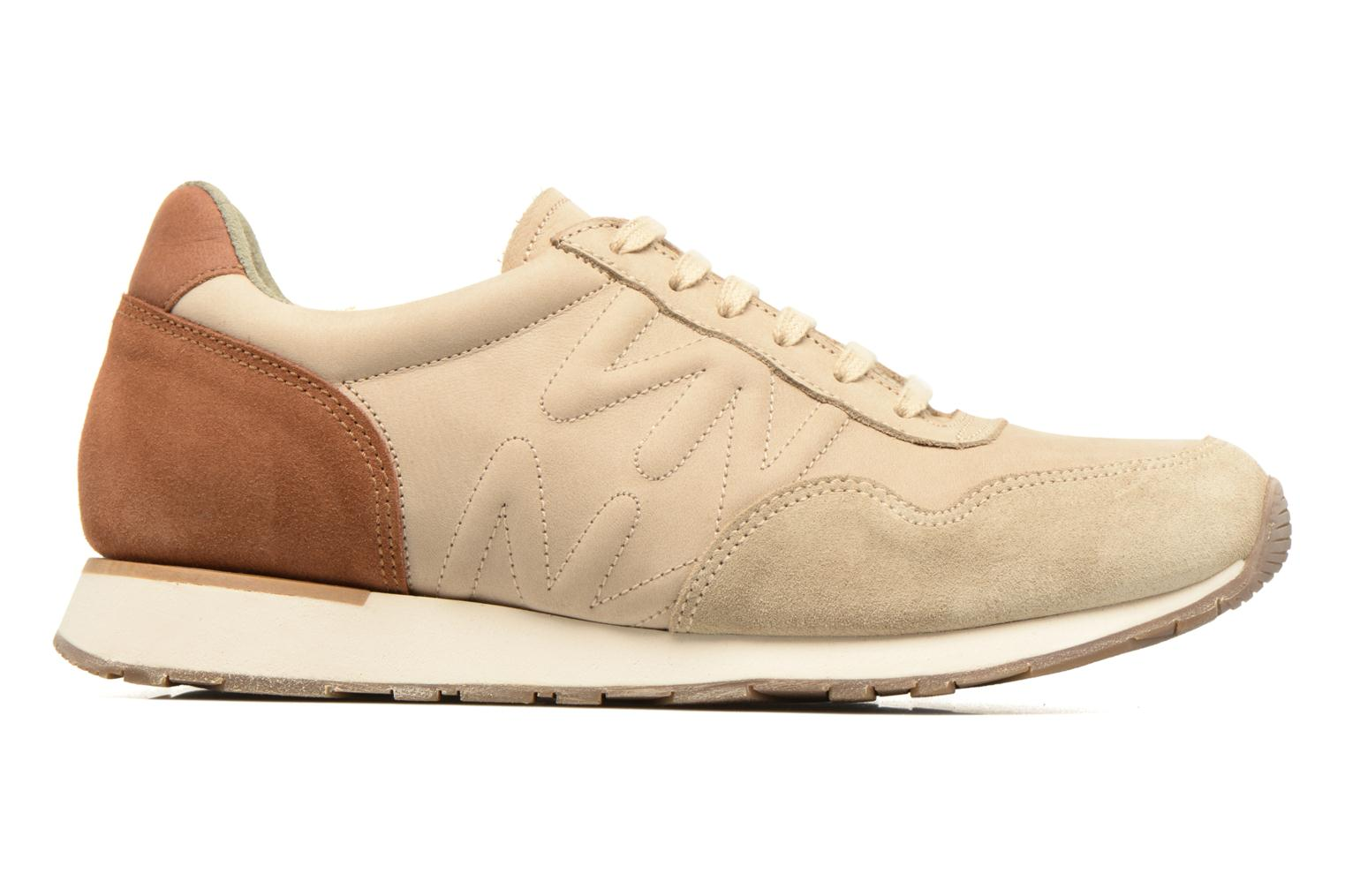 Trainers El Naturalista Walky ND90 Beige back view