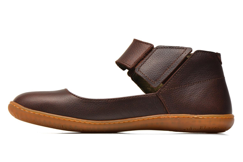 Los últimos zapatos de hombre y mujer El Naturalista El Viajero NE16 W (Marrón) - Bailarinas en Más cómodo