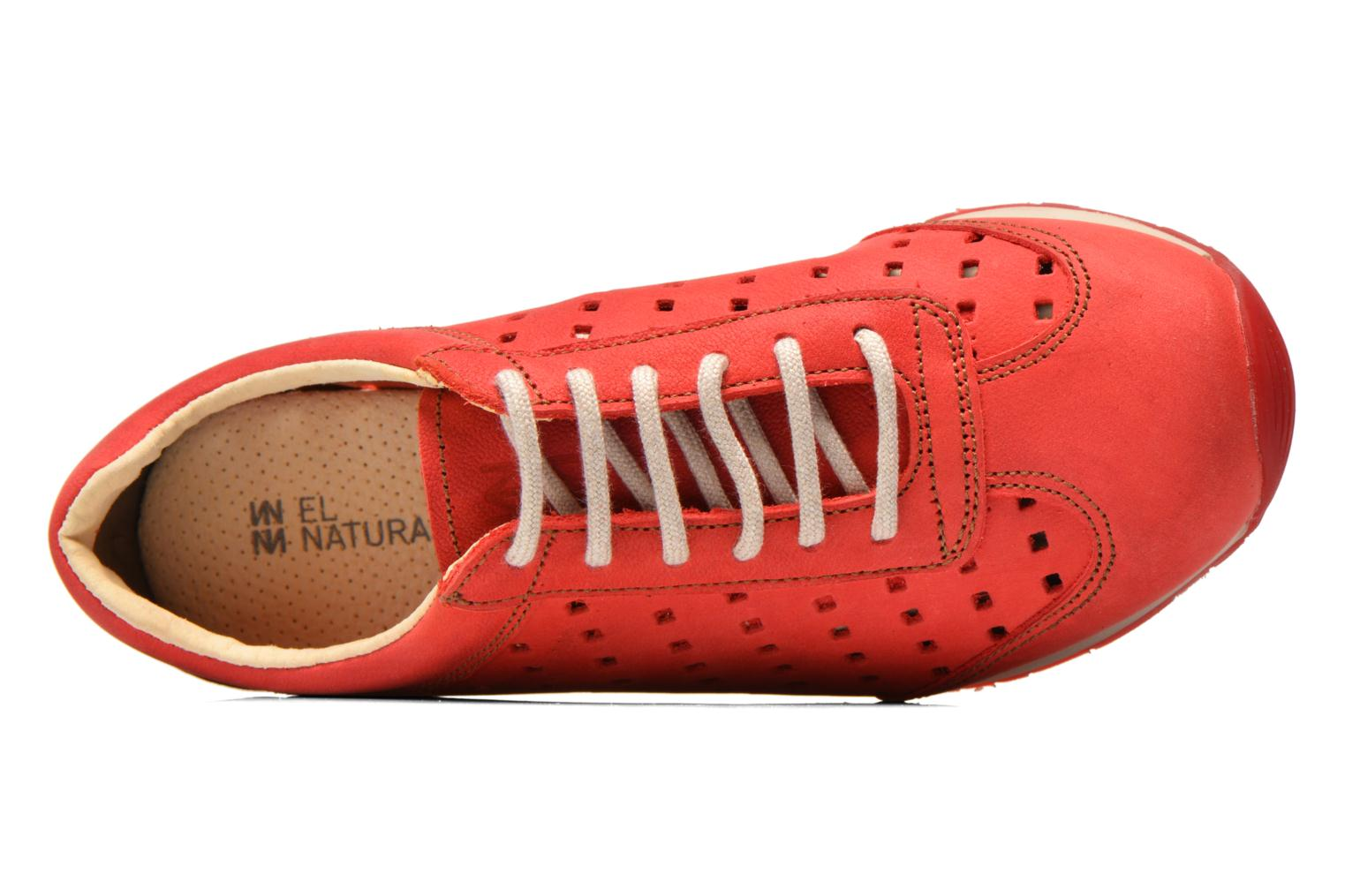Sneaker El Naturalista Walky ND98 rot ansicht von links