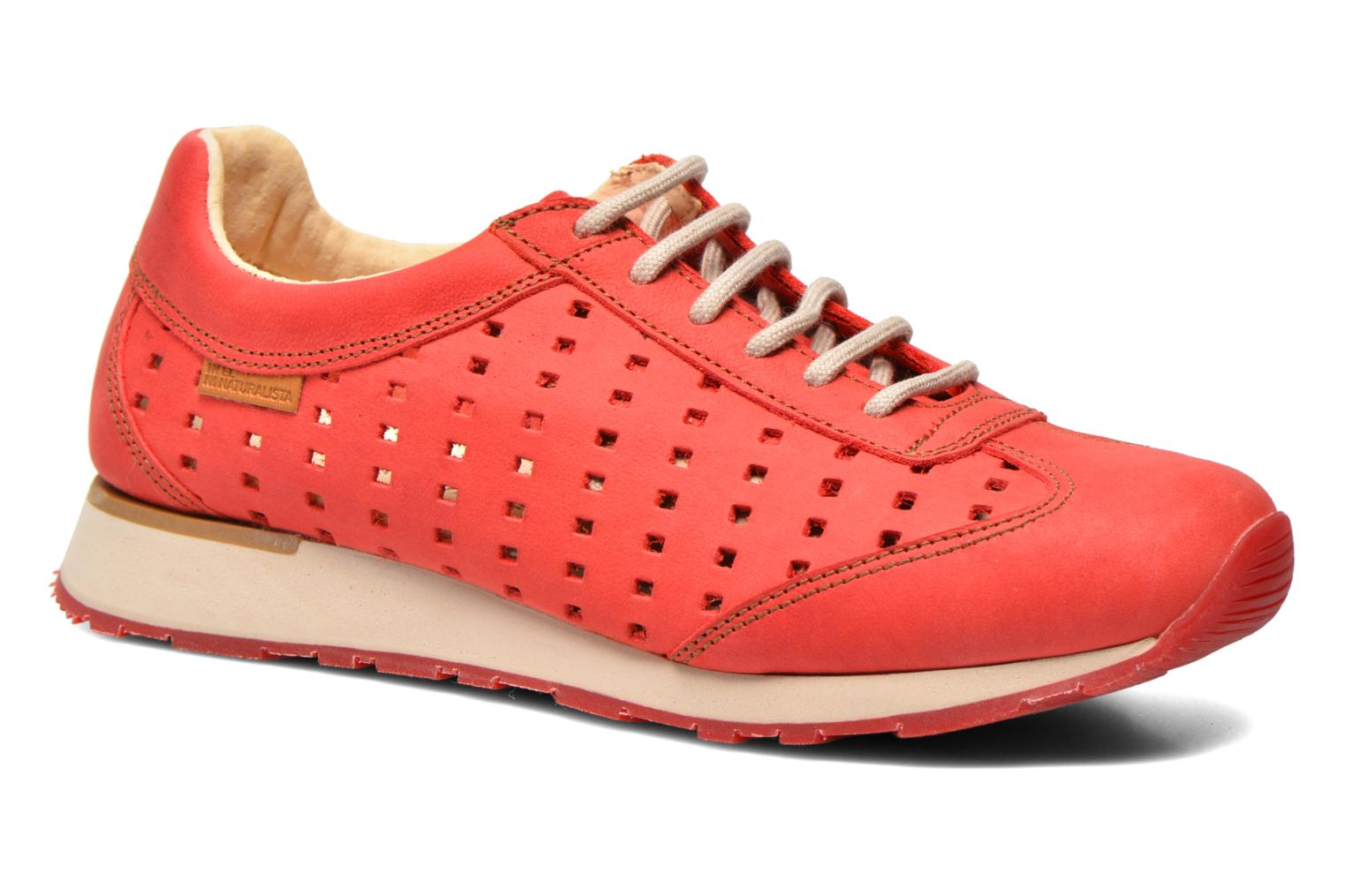 Sneaker El Naturalista Walky ND98 rot detaillierte ansicht/modell