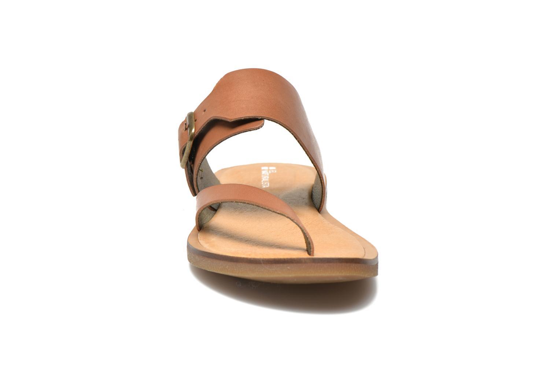 Mules et sabots El Naturalista Tulip NF32 Marron vue portées chaussures