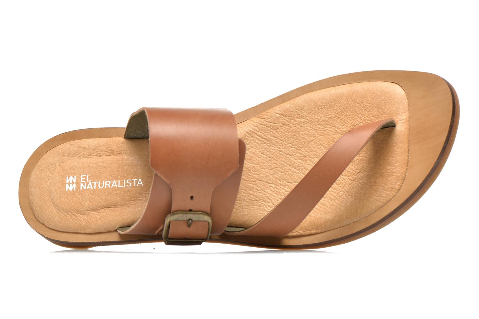 Mules & clogs El Naturalista Tulip NF32 Brown view from the left
