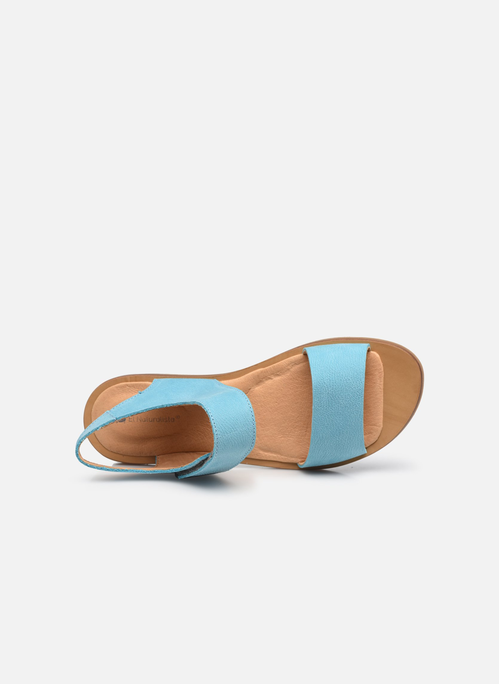 Sandals El Naturalista Tulip NF30 Blue view from the left