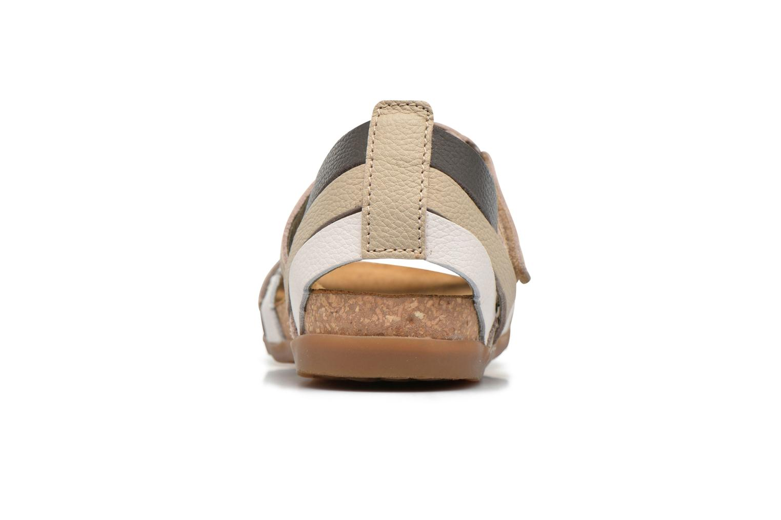 Sandals El Naturalista Zumaia NF42 Multicolor view from the right