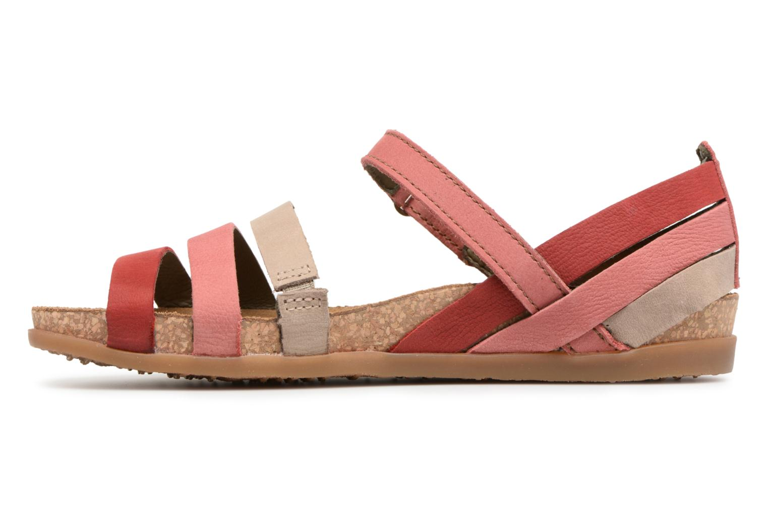 Sandals El Naturalista Zumaia NF42 Red front view