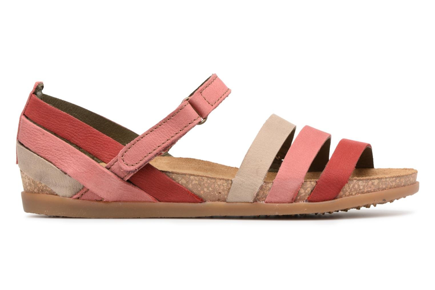 Sandals El Naturalista Zumaia NF42 Red back view