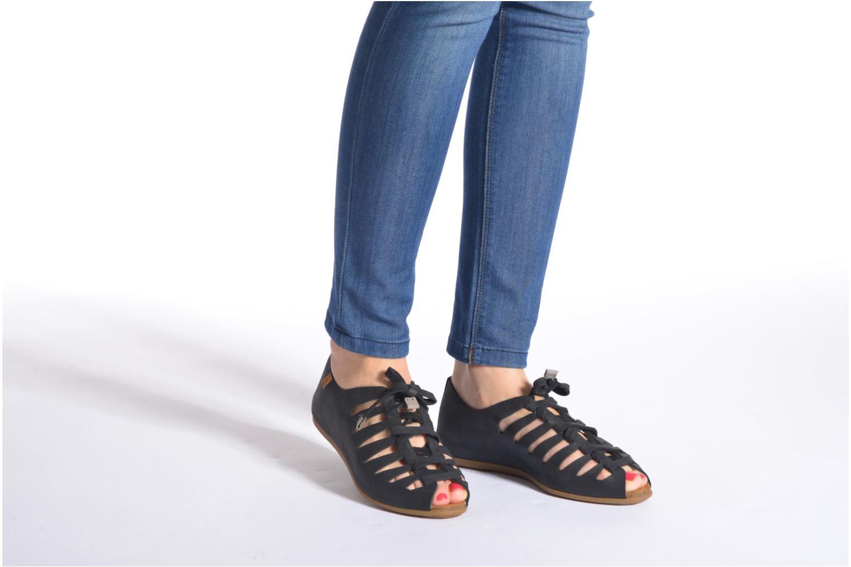 Zapatos con cordones El Naturalista Stella ND52 Negro vista de abajo