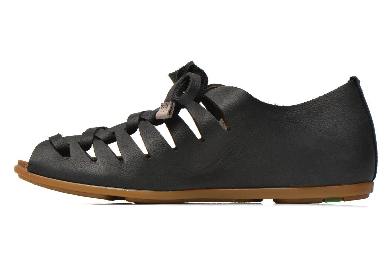 Zapatos con cordones El Naturalista Stella ND52 Negro vista de frente