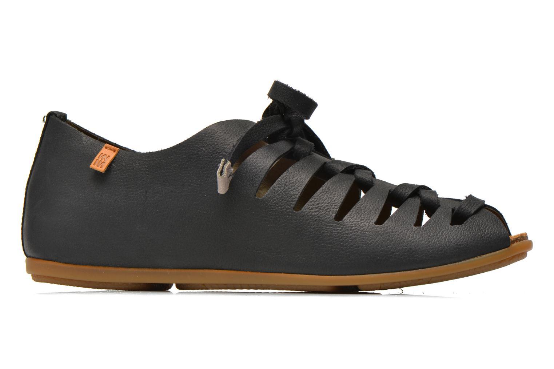 Zapatos con cordones El Naturalista Stella ND52 Negro vistra trasera
