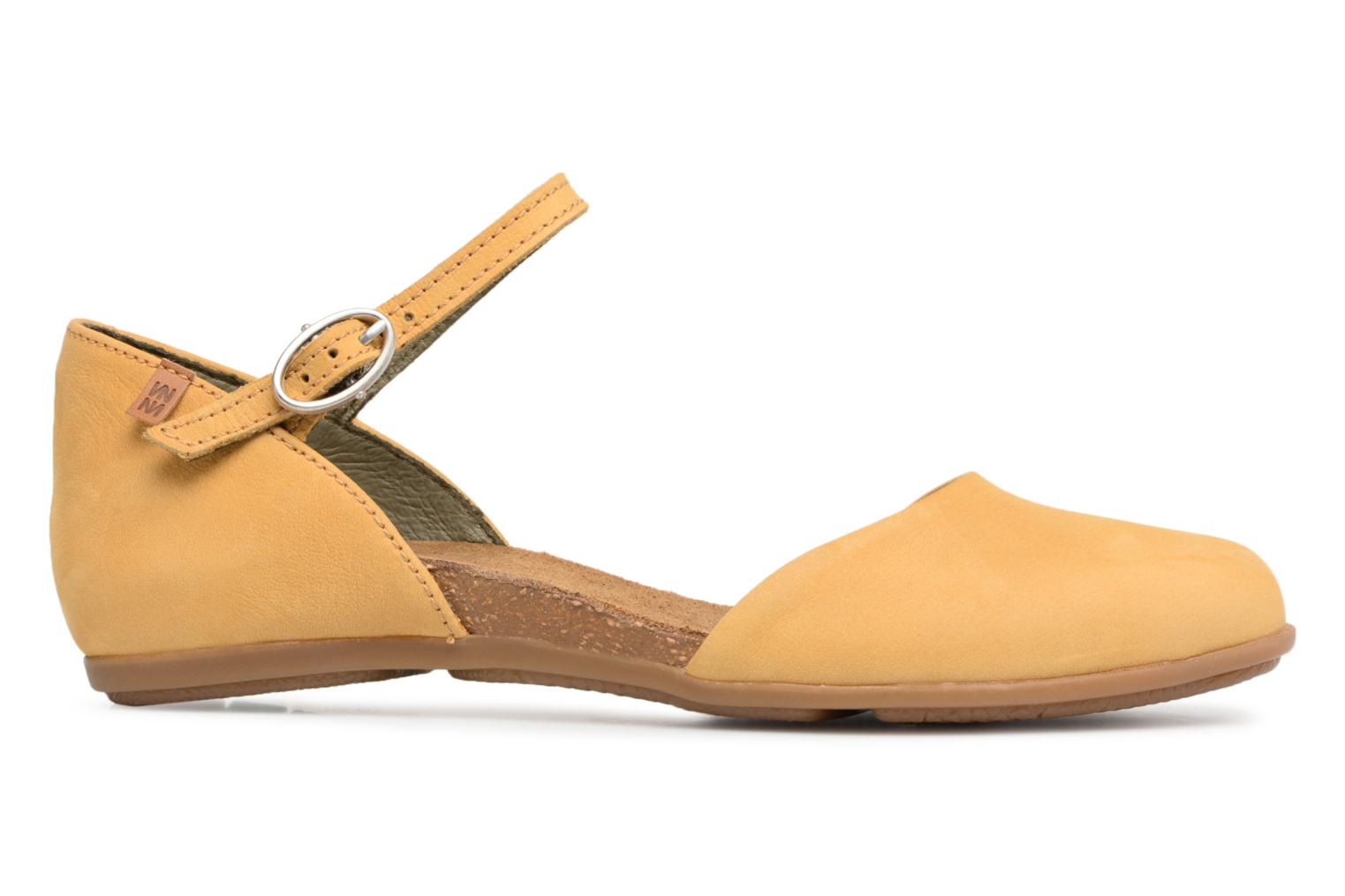 Ballet pumps El Naturalista Stella ND54 Yellow back view