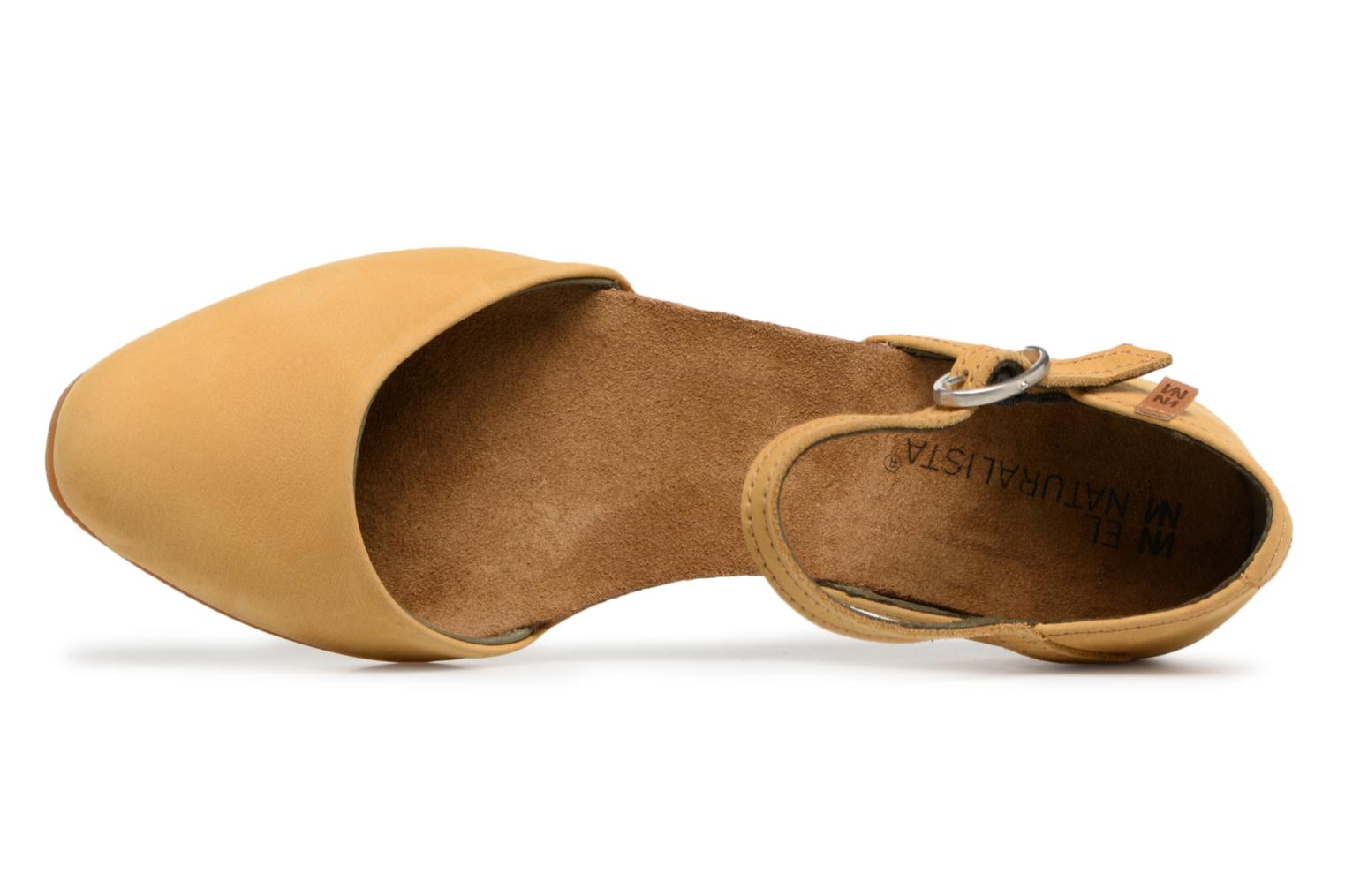 Ballet pumps El Naturalista Stella ND54 Yellow view from the left