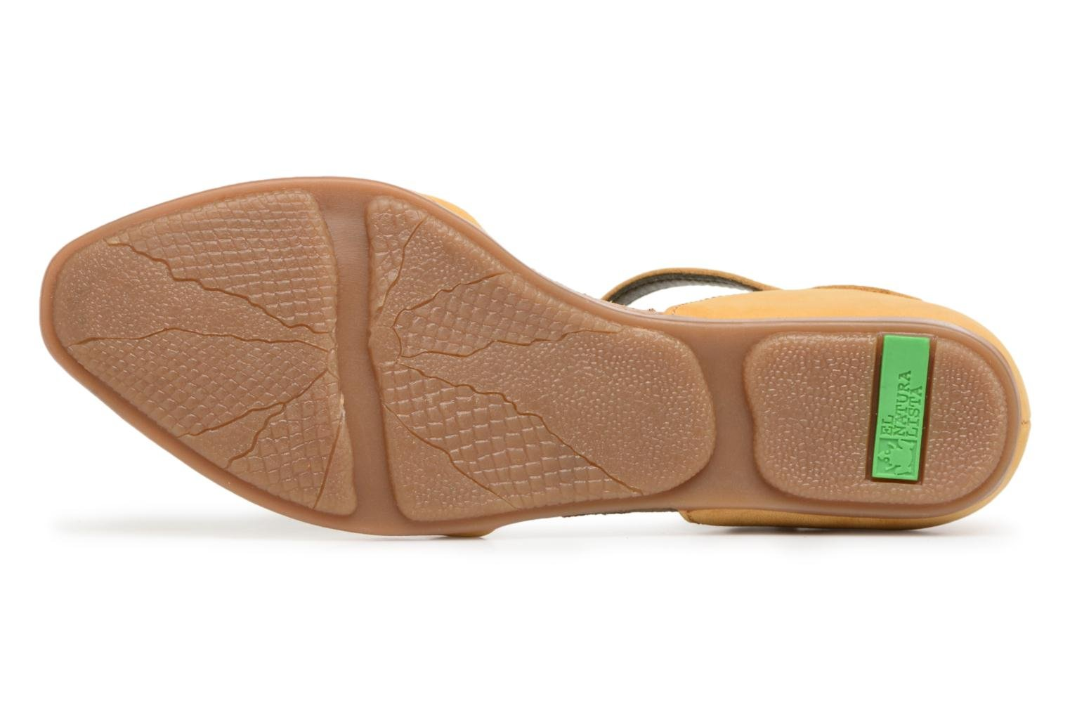 Ballet pumps El Naturalista Stella ND54 Yellow view from above