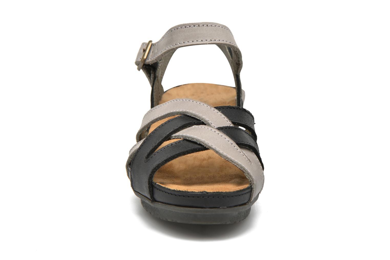 Sandales et nu-pieds El Naturalista Code ND27 Bleu vue portées chaussures