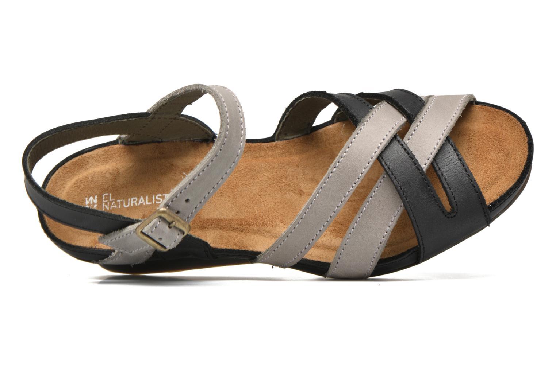 Sandales et nu-pieds El Naturalista Code ND27 Bleu vue gauche