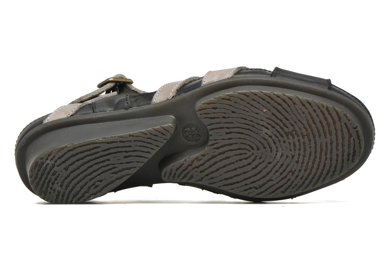 Sandales et nu-pieds El Naturalista Code ND27 Bleu vue haut