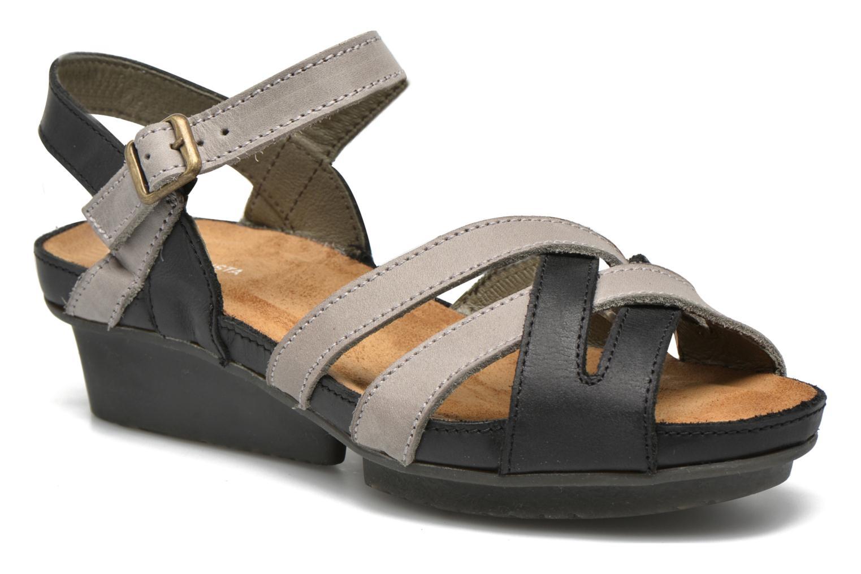Sandales et nu-pieds El Naturalista Code ND27 Bleu vue détail/paire