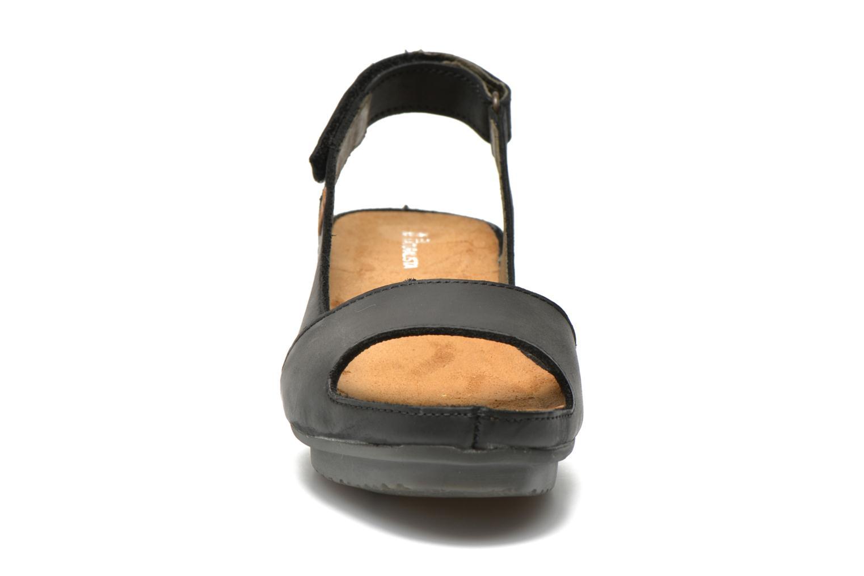 Sandalen El Naturalista Code ND25 schwarz schuhe getragen
