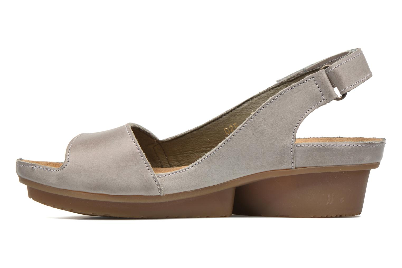 Sandales et nu-pieds El Naturalista Code ND25 Gris vue face