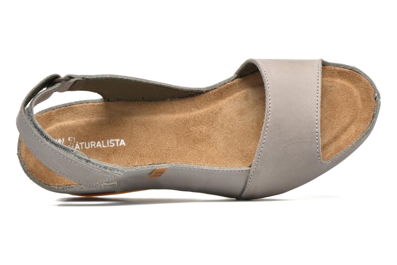 Sandales et nu-pieds El Naturalista Code ND25 Gris vue gauche