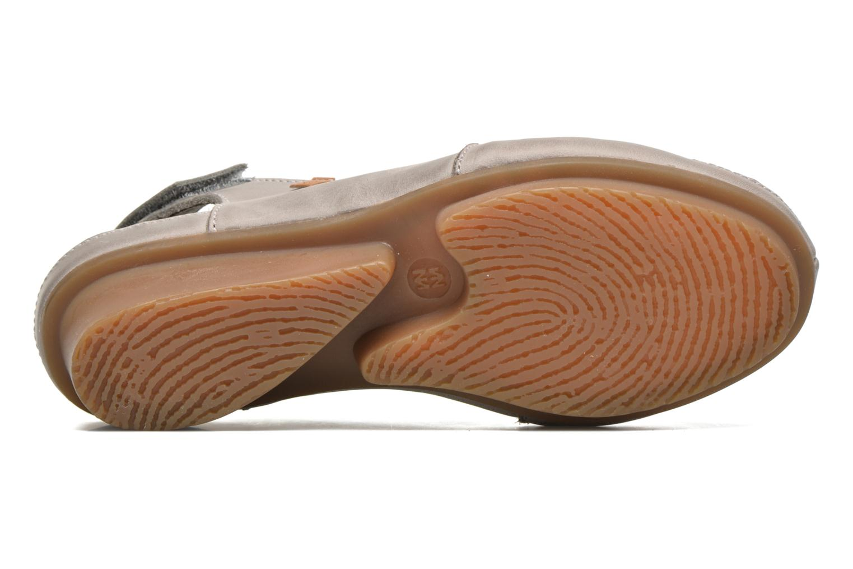 Sandales et nu-pieds El Naturalista Code ND25 Gris vue haut