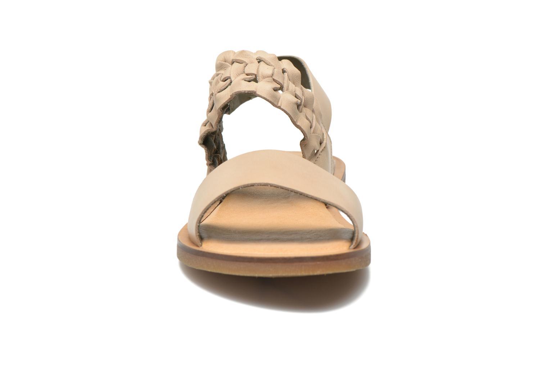 Sandals El Naturalista Tulip NF31 Beige model view