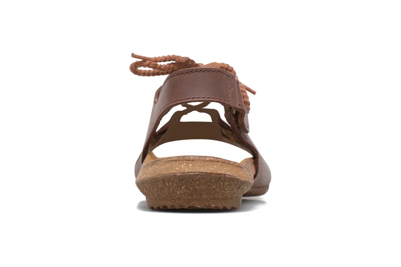 Sandales et nu-pieds El Naturalista Wakataua ND73 Marron vue droite