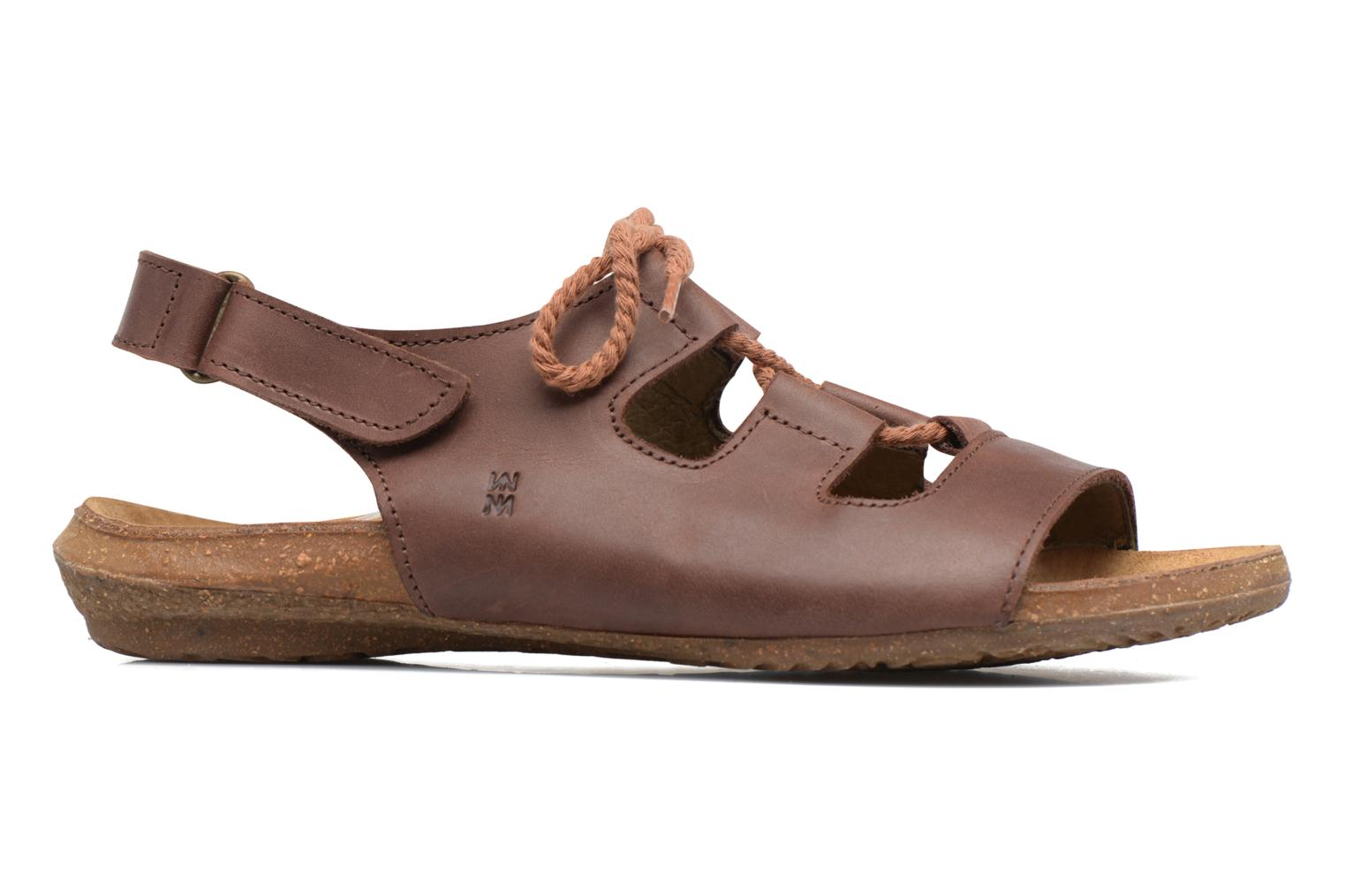 Sandals El Naturalista Wakataua ND73 Brown back view