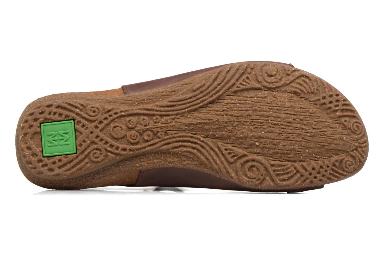 Sandales et nu-pieds El Naturalista Wakataua ND73 Marron vue haut