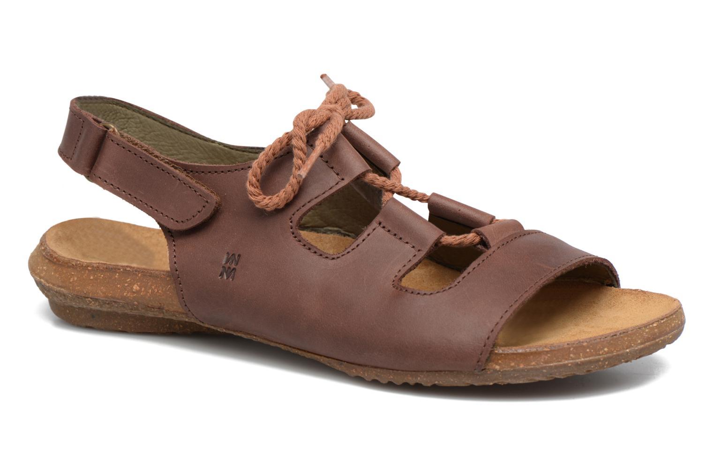 Sandales et nu-pieds El Naturalista Wakataua ND73 Marron vue détail/paire