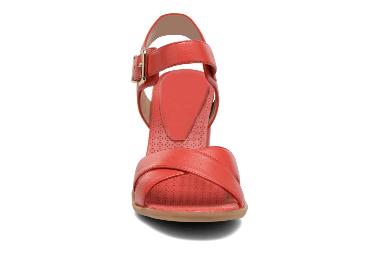 Sandales et nu-pieds Bruno Premi Mojo Rouge vue portées chaussures