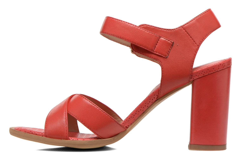 Sandales et nu-pieds Bruno Premi Mojo Rouge vue face