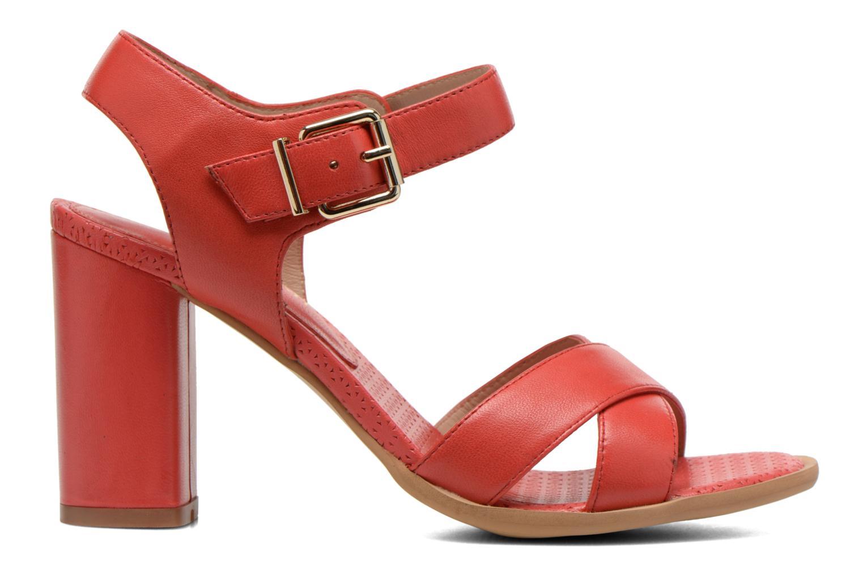 Sandales et nu-pieds Bruno Premi Mojo Rouge vue derrière