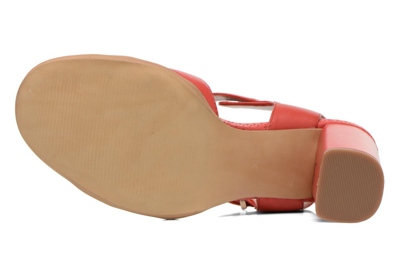 Sandales et nu-pieds Bruno Premi Mojo Rouge vue haut