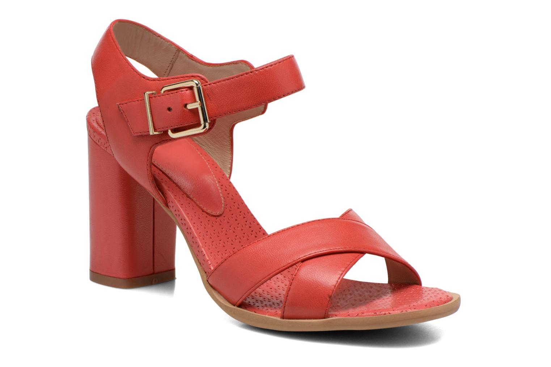 Sandales et nu-pieds Bruno Premi Mojo Rouge vue détail/paire