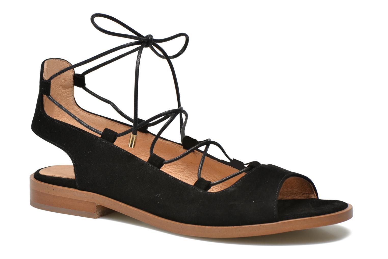 Sandales et nu-pieds Made by SARENZA Discow Girl #4 Noir vue face