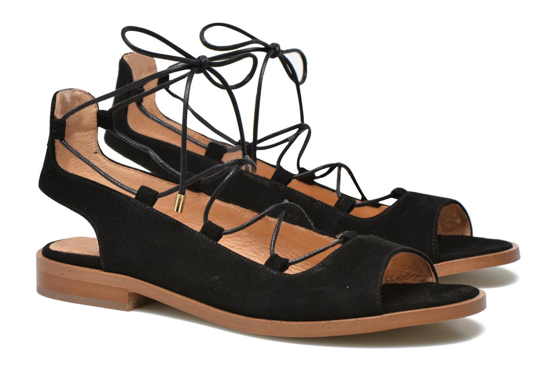 Sandales et nu-pieds Made by SARENZA Discow Girl #4 Noir vue droite