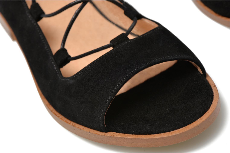 Sandales et nu-pieds Made by SARENZA Discow Girl #4 Noir vue derrière