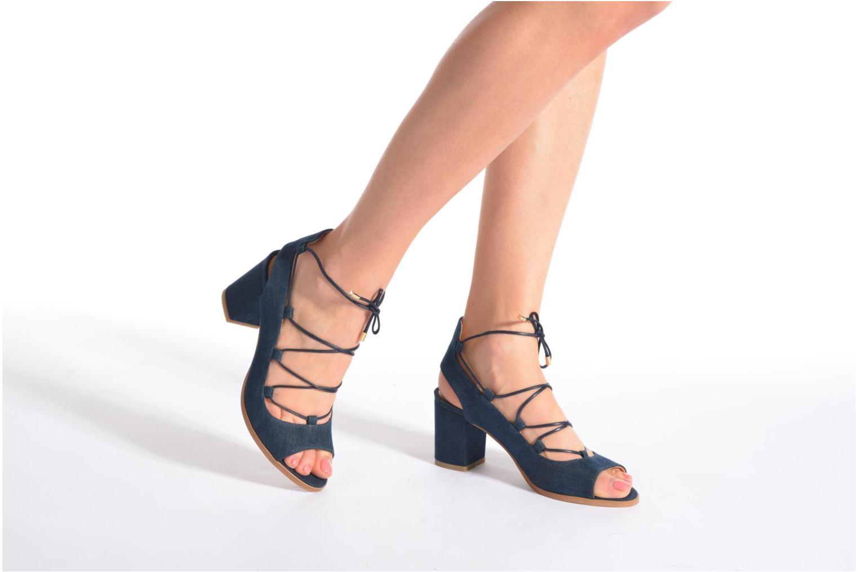 Sandalias Made by SARENZA Discow Girl #5 Azul vista de abajo