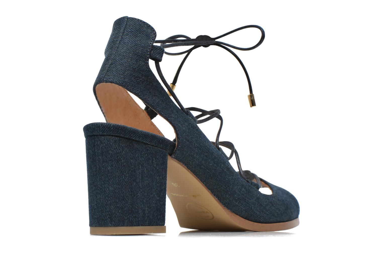Sandalias Made by SARENZA Discow Girl #5 Azul vista del modelo