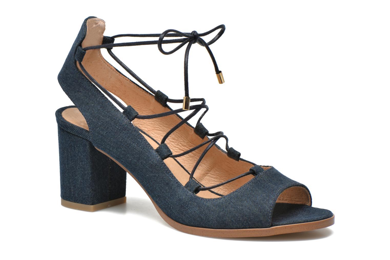 Sandales et nu-pieds Made by SARENZA Discow Girl #5 Bleu vue face