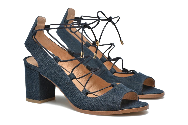 Sandalias Made by SARENZA Discow Girl #5 Azul vista lateral derecha