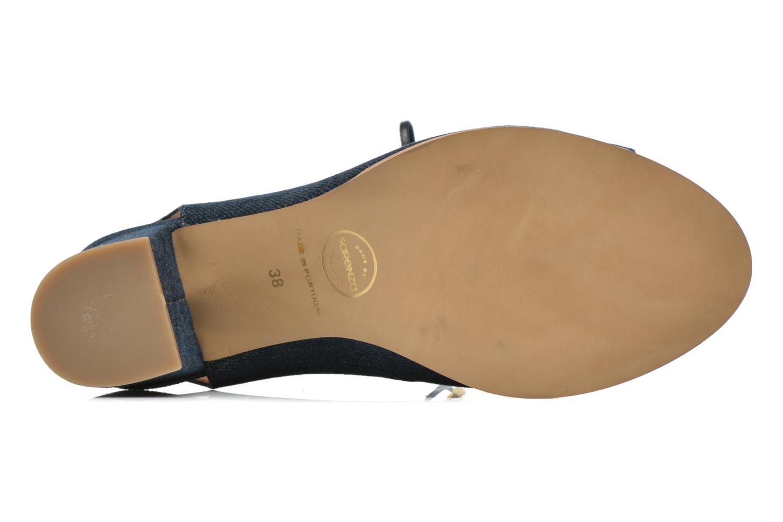Sandalen Made by SARENZA Discow Girl #5 blau ansicht von links