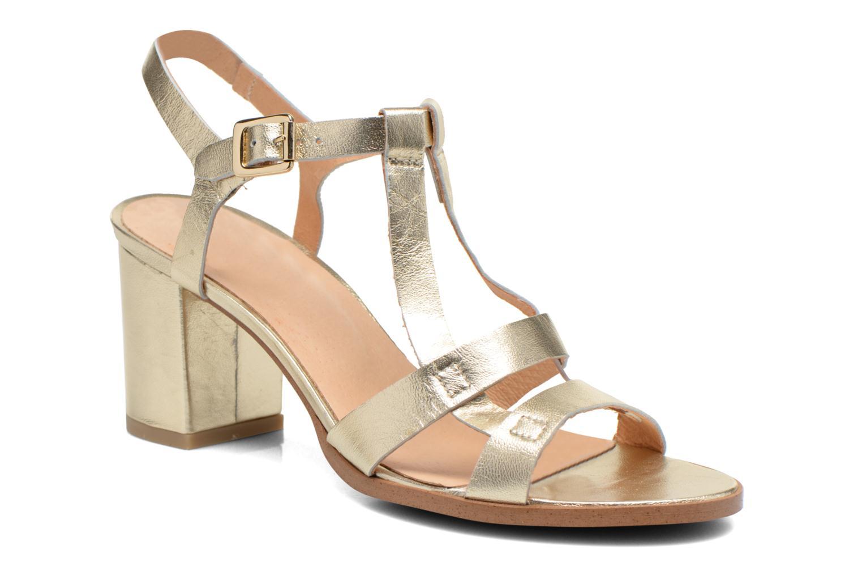 Sandalias Made by SARENZA Square Simone#5 Oro y bronce vista lateral derecha