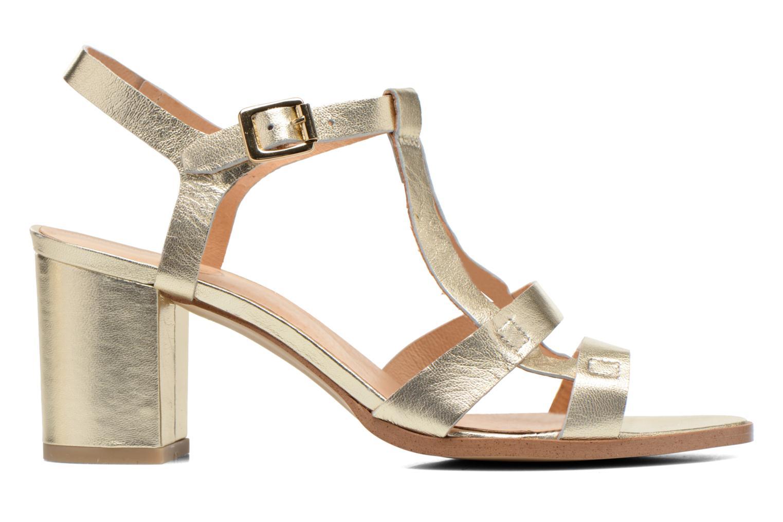 Sandales et nu-pieds Made by SARENZA Square Simone#5 Or et bronze vue détail/paire