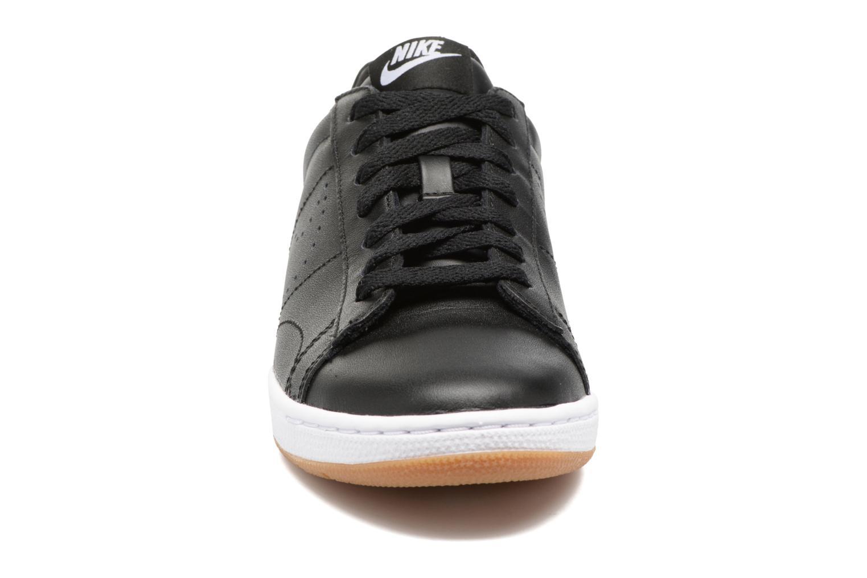 Sneaker Nike W Tennis Classic Ultra Lthr schwarz schuhe getragen