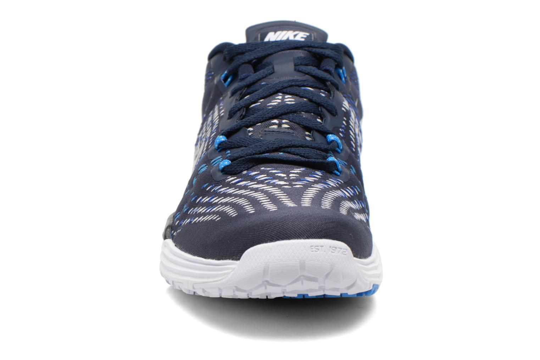 Sportschuhe Nike Nike Lunar Caldra blau schuhe getragen
