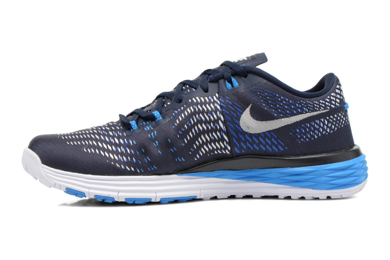 Sportschuhe Nike Nike Lunar Caldra blau ansicht von vorne