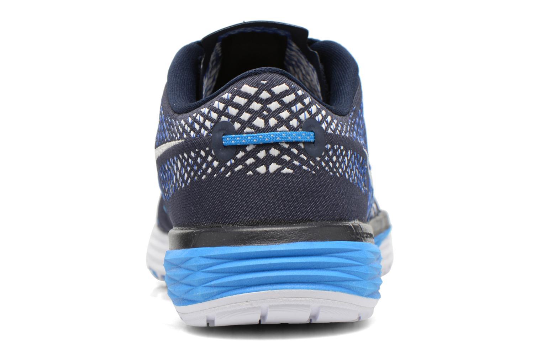 Sportschuhe Nike Nike Lunar Caldra blau ansicht von rechts