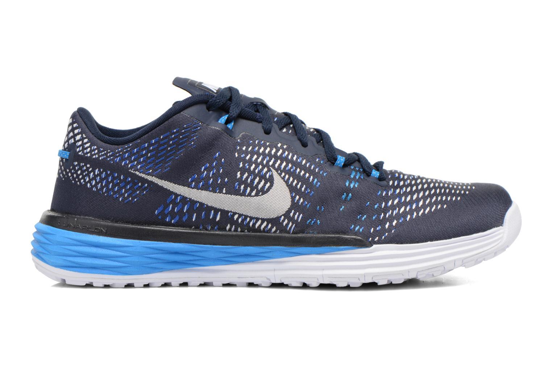 Sportschuhe Nike Nike Lunar Caldra blau ansicht von hinten