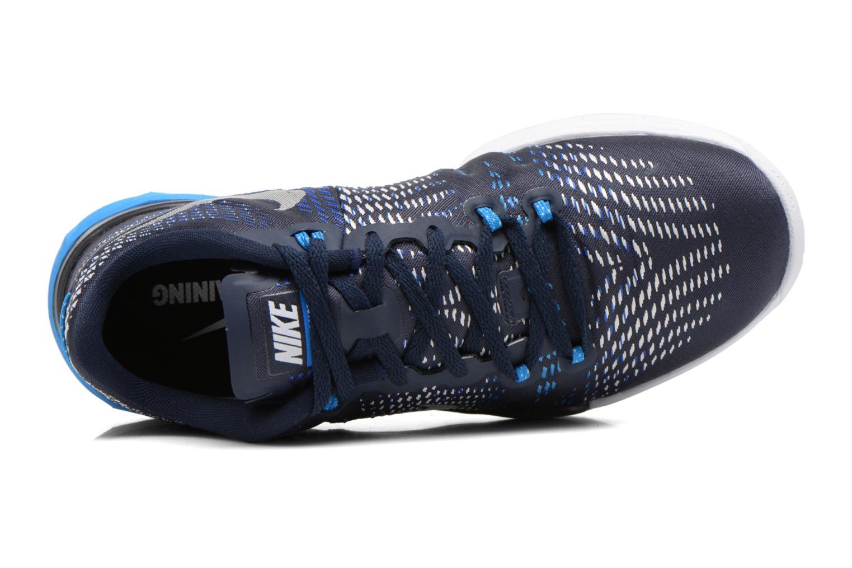 Sportschuhe Nike Nike Lunar Caldra blau ansicht von links
